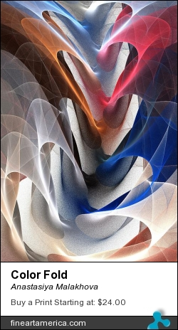 Color Fold by Anastasiya Malakhova - fractal art
