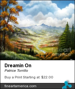 Dreamin On by Patrice Torrillo - Painting - Acrylic On Canvas