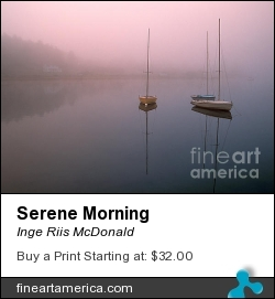 Serene Morning by Inge Riis McDonald - Photograph - Photography
