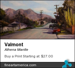 Valmont by Athena Mantle - Painting - Oil On Panel