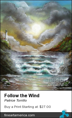 Follow The Wind by Patrice Torrillo - Painting - Acrylic On Canvas