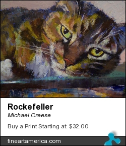 Rockefeller by Michael Creese - Painting - Oil On Canvas