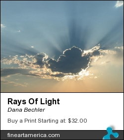 Rays Of Light by Dana Bechler - Photograph - Digital Photography