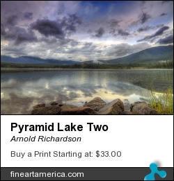Pyramid Lake Two by Arnold Richardson - Photograph