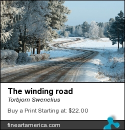 The Winding Road by Torbjorn Swenelius - Photograph - Photography