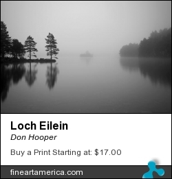 Loch Eilein by Don Hooper - Photograph - Photography