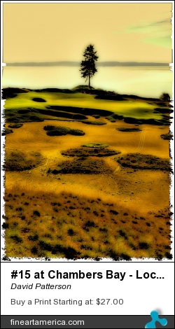#15 At Chambers Bay - Location Of The 2015 Us Open by David Patterson - Photograph - Photograph - Digital Art