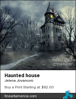 Haunted House by Jelena Jovanovic - Photograph