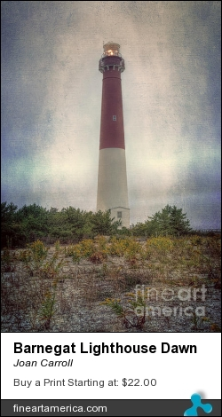 Barnegat Lighthouse Dawn by Joan Carroll - Photograph - Digital Photograph