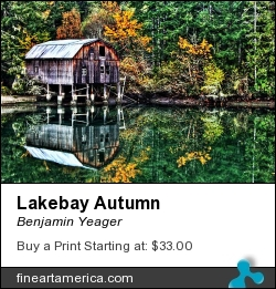 Lakebay Autumn by Benjamin Yeager - Photograph - Color Photo