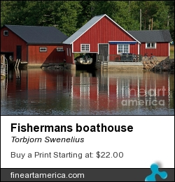 Fishermans Boathouse by Torbjorn Swenelius - Photograph - Photography