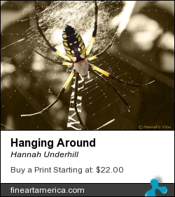 Hanging Around by Hannah Underhill - Digital Art