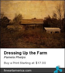 Dressing Up The Farm by Pamela Phelps - Photograph - Textured Photography