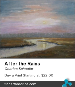 After The Rains by Charles Schaefer - Painting - Oil Canvas