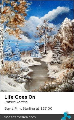 Life Goes On by Patrice Torrillo - Painting - Acrylic On Canvas
