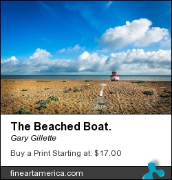 The Beached Boat. by Gary Gillette - Photograph - Photograph
