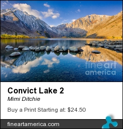 Convict Lake 2 by Mimi Ditchie - Photograph - Photograph
