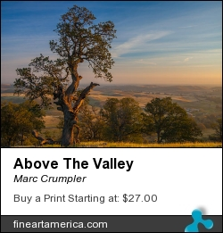 Above The Valley by Marc Crumpler - Photograph
