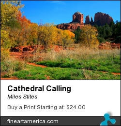 Cathedral Calling by Miles Stites - Photograph