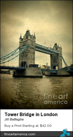 Tower Bridge In London by Jill Battaglia - Photograph - Fine Art Photography