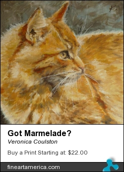 Got Marmelade? by Veronica Coulston - Painting - Oil On Canvas