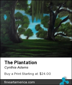 The Plantation by Cynthia Adams - Painting - Oil On Canvas