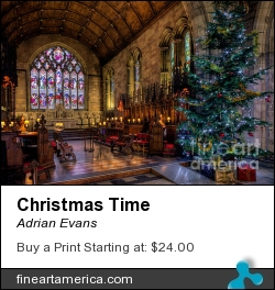 Christmas Time by Adrian Evans - Photograph