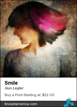 Smile by Gun Legler - Digital Art - Digital Art