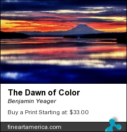 The Dawn Of Color by Benjamin Yeager - Photograph - Color Photo