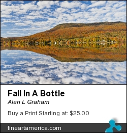 Fall In A Bottle by Alan L Graham - Photograph - Photography