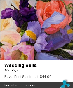 Wedding Bells by Mai Yap - Painting - Oil On Canvas