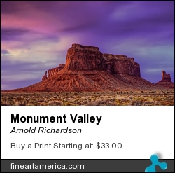 Monument Valley by Arnold Richardson - Photograph