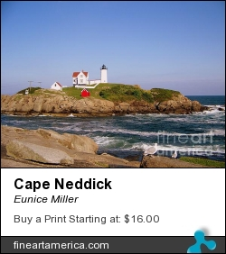 Cape Neddick by Eunice Miller - Photograph - Photography