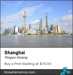 Shanghai by Yinguo Huang - Photograph - Photographs