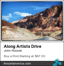 Along Artists Drive by John Rizzuto - Photograph - Photography