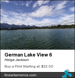 German Lake View 6 by Helga Jackson - Photograph