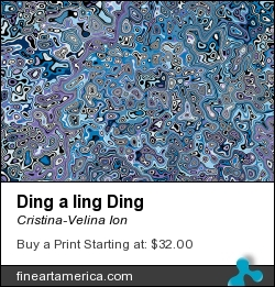 Ding A Ling Ding by Cristina-Velina Ion - Digital Art