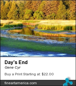 Day's End by Gene Cyr - Photograph - Photos