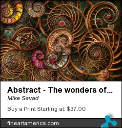 Abstract - The Wonders Of Sea by Mike Savad - Photograph - Hdr Photography