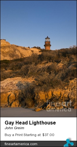 Gay Head Lighthouse by John Greim - Photograph - Photography