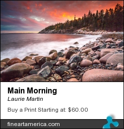 Main Morning by Laurie Martin - Photograph - Photography