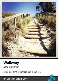 Walkway by Les Cunliffe - Photograph - Photograph