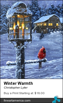 Winter Warmth by Christopher Lyter - Painting - Acrylic On Canvas