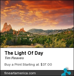 The Light Of Day by Tim Reaves - Photograph - Photography