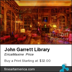 John Garrett Library by EricaMaxine  Price - Photograph - Photography, Textures