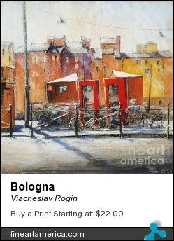 Bologna by Viacheslav Rogin - Pastel - Pastel, Colorpaper