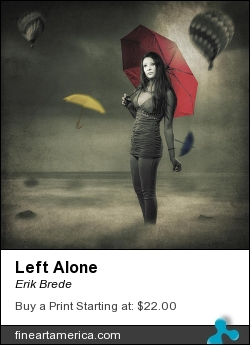 Left Alone by Erik Brede - Photograph - Photograph