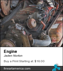 Engine by Jaden Norton - Photograph
