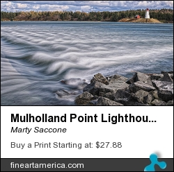 Mulholland Point Lighthouse by Marty Saccone - Photograph - Fine Photography