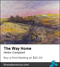 The Way Home by Helen Campbell - Painting - Acrylic On Canvas